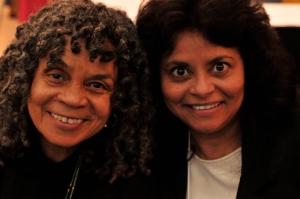 Sonia Sanchez and Jacqueline Wood