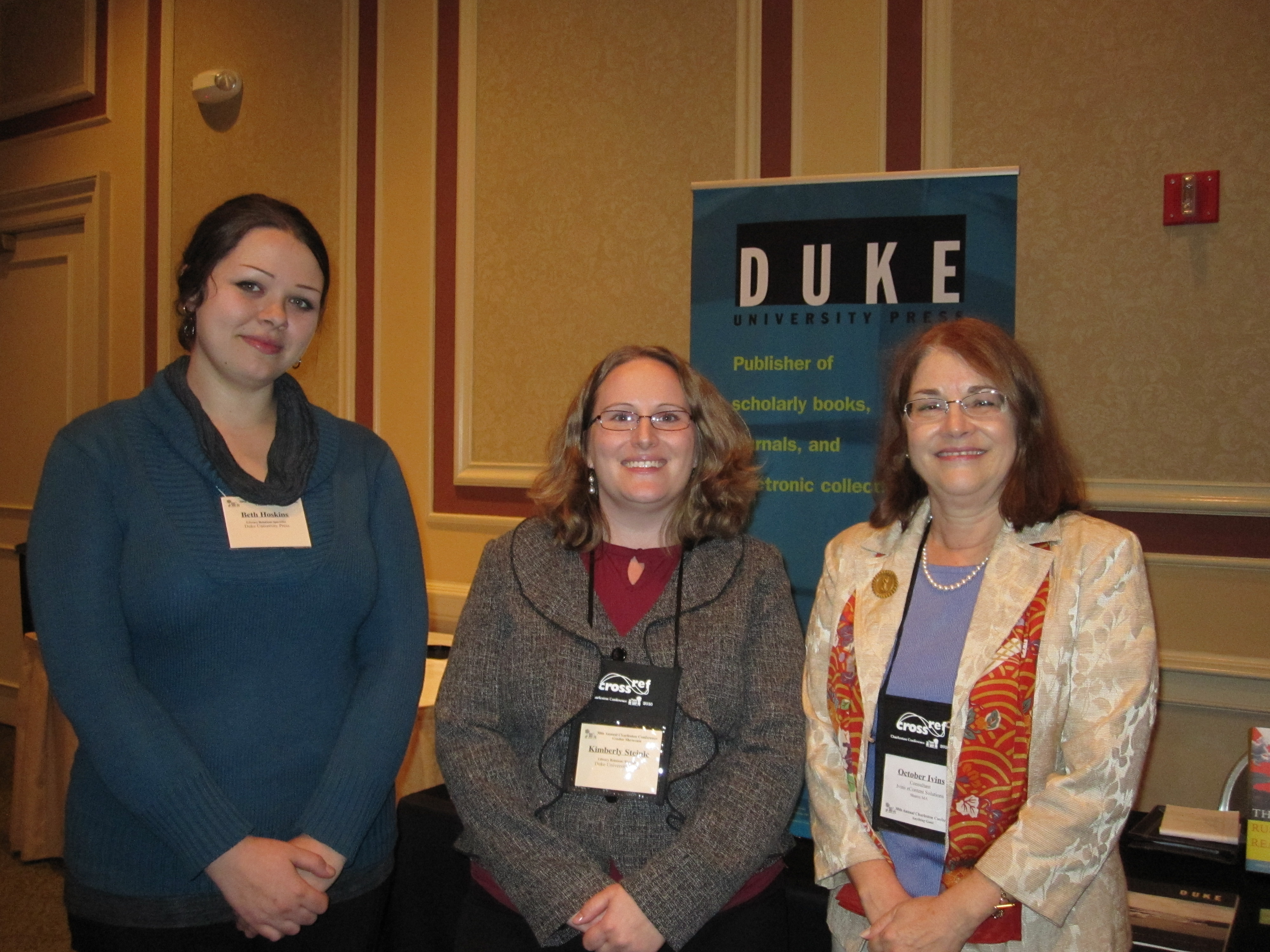 Photos from the annual Charleston Library Conference | Duke