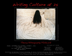 Writing Culture Poster