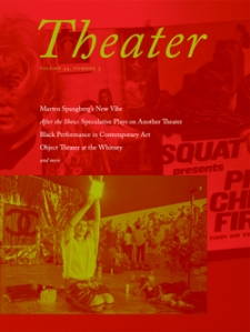 Read the most recent issue of Theater by clicking the image above.