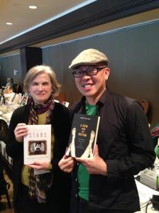 "Mary Desjardins, author of ""Recycled Stars"" and Nguyen Tan Hoang, author of ""A View from the Bottom."""