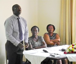 Dr David Kyaddondo discusses fieldwork