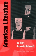 American Literature 70:3 (1998)