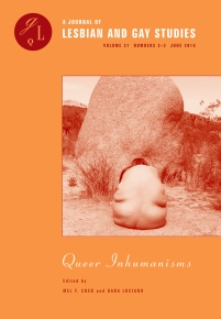 GLQ: A Journal of Lesbian and Gay Studies 21:2-3 (2015)