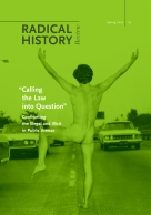 Radical History Review #113 (2012)