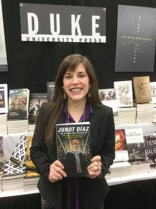 Jennifer Harford Vargas, coeditor of Junot Díaz and the Decolonial Imagination