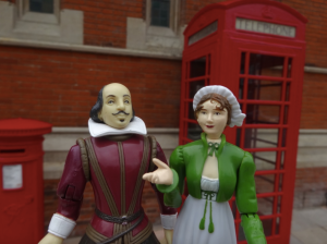 Will and Jane in Stratford-upon-Avon.