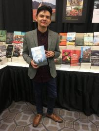 Alex Chávez, author of Sounds of Crossing