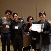 Amber Musser, Marcia Ochoa, Jennifer DeVere Brody, and Margaret Galvan