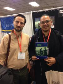 Kevin Coleman and Adrian De Leon, with an issue of Radical History Review they contributed to.
