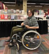 Jane Gallop, author of Sexuality, Disability, and Aging